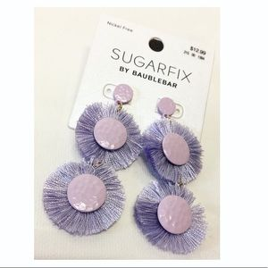 SugarFix by Baublebar | NWT Purple Fringed Earring